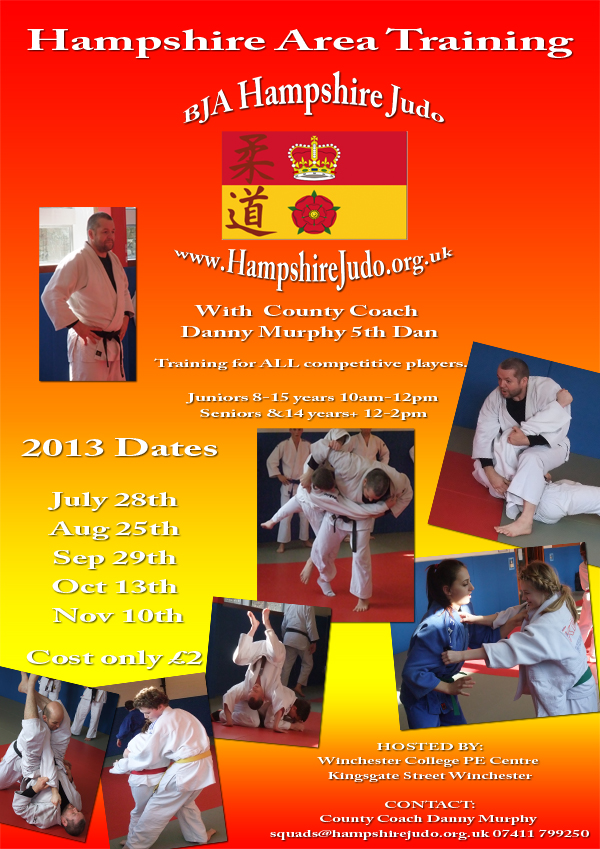 Hampshire Area Training poster 2013 Web