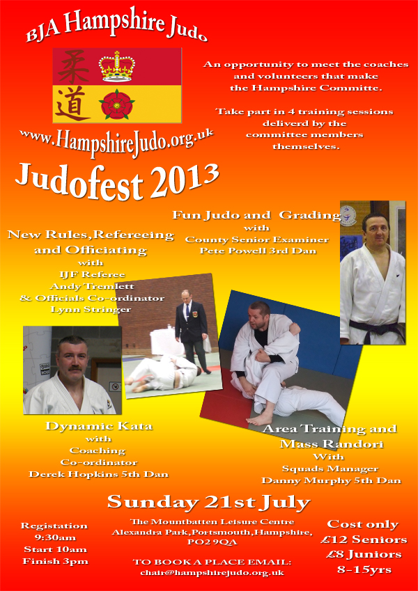 Hampshire Judofest poster 2013 draft small 3
