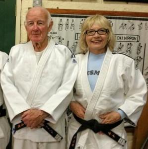 Tina and Dennis Penfold Kata coaching